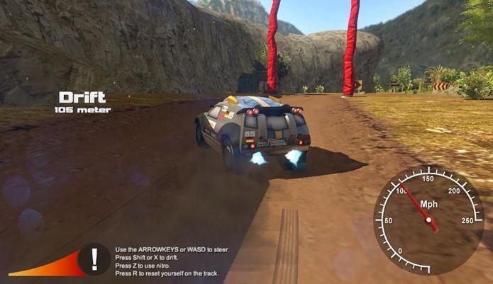Rally Point 4 é um game de corrida totalmente gratuito e sem compras embutidas (Foto: Divulgação)