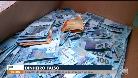 Homem que teve R$ 3 mi em notas falsas apreendidos se apresenta à polícia em Teresina