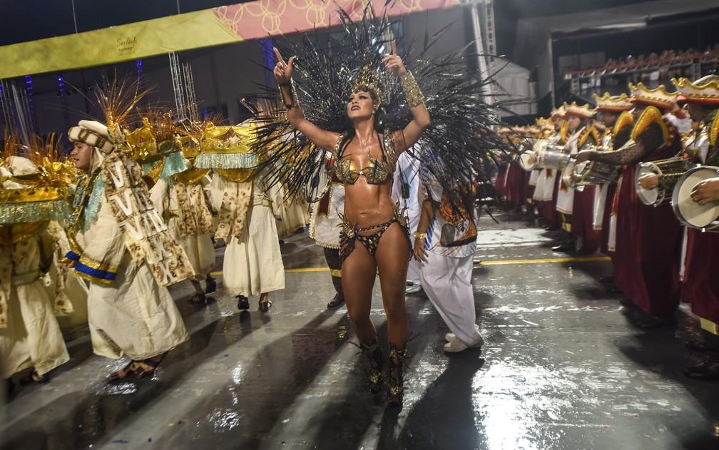 Império de Casa Verde faz ensaio técnico neste domingo — Foto: Flavio Moraes/G1