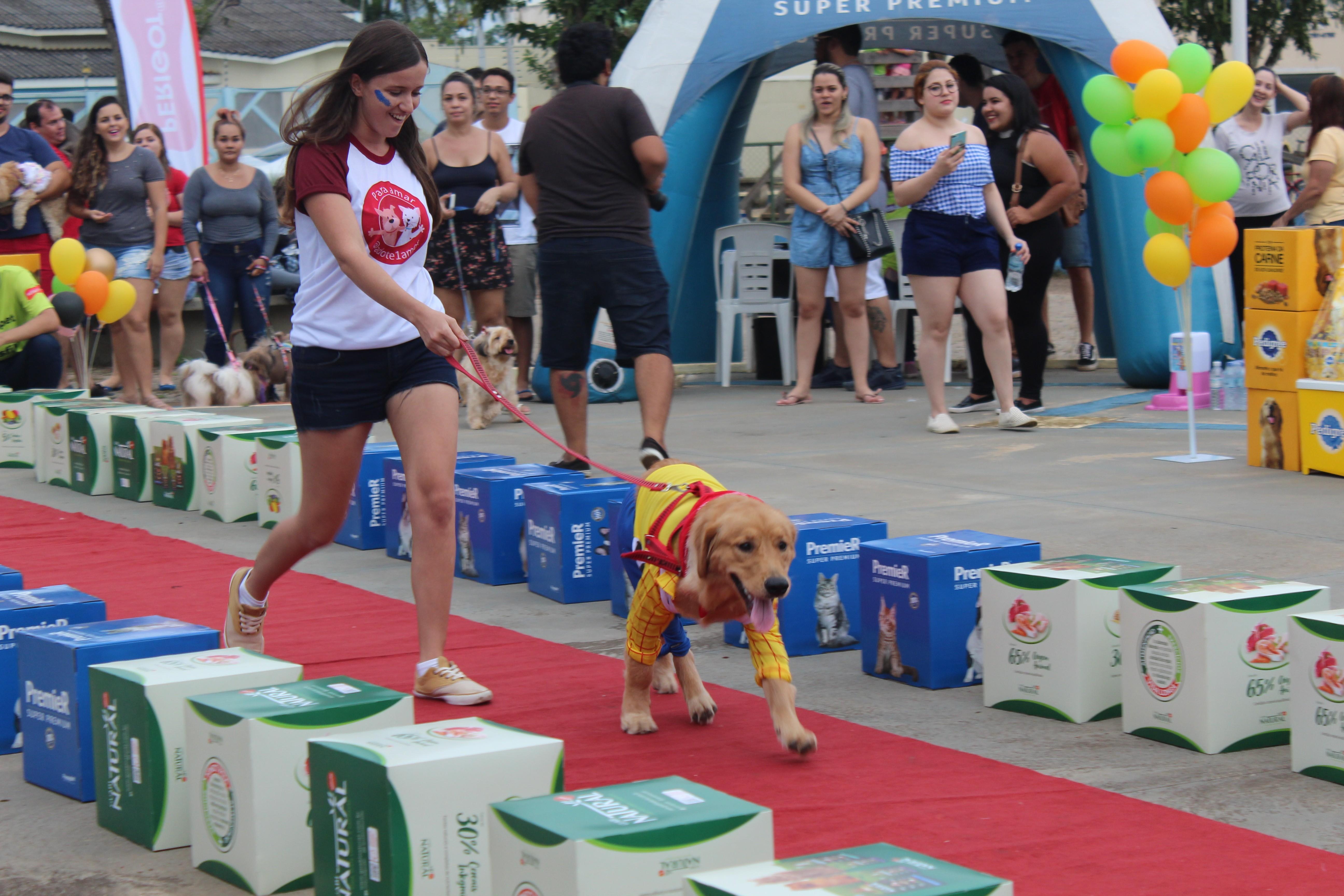 'Carnapet' reúne dezenas de pessoas e cães em bloquinho solidário em RO; veja as fotos - Noticias