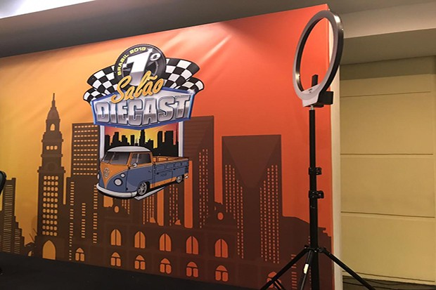 Salão DieCast aconteceu em espaço de eventos de um hotel na zona sul de São Paulo (Foto: Giovana Oréfice)