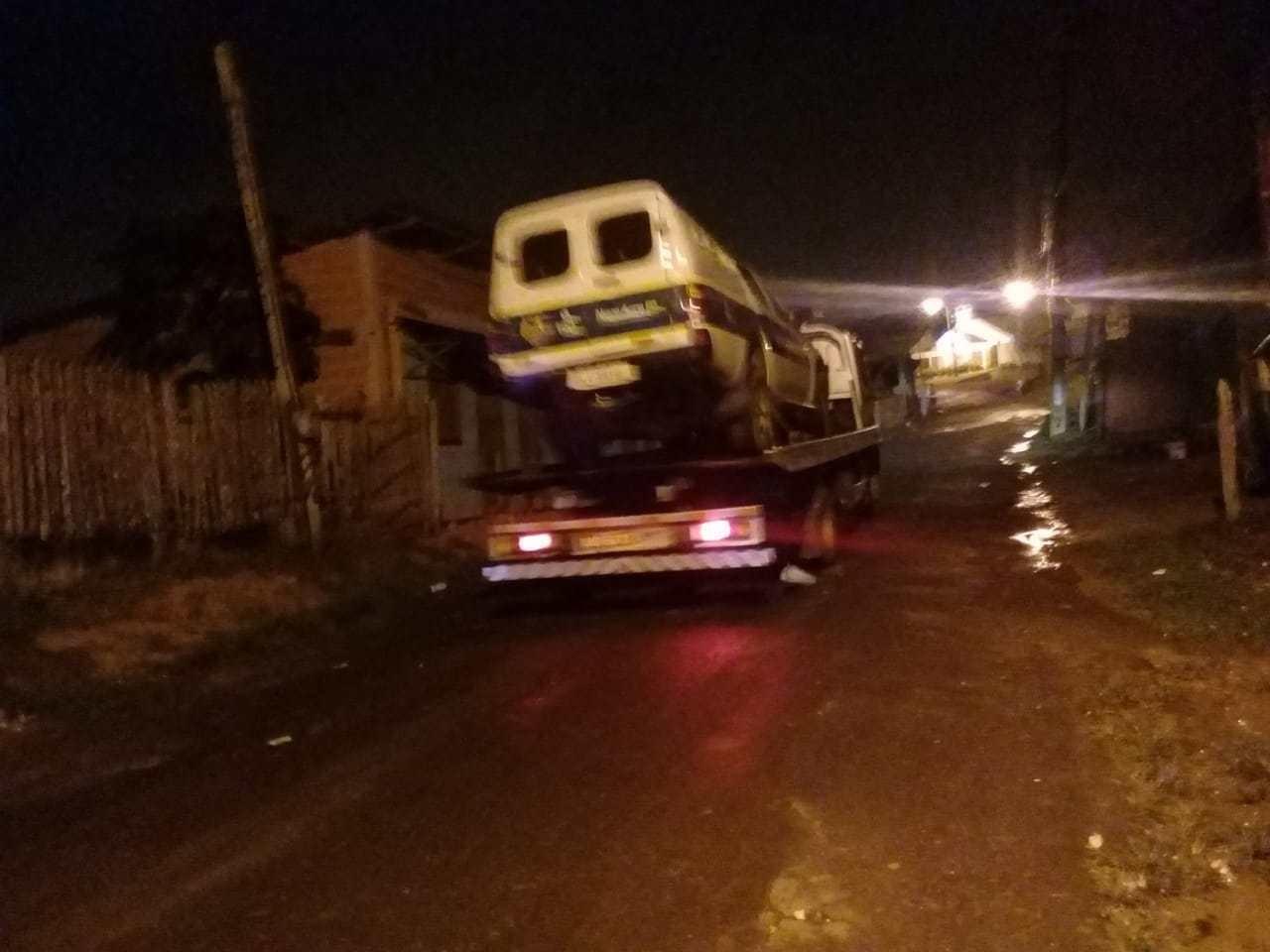Viatura da PM se envolve em acidente durante perseguição no interior do Acre - Noticias
