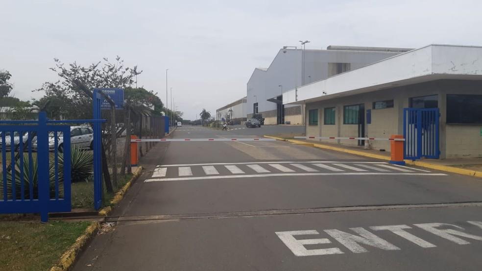 Homem morreu dentro da Dedini, em Piracicaba — Foto: Edijan Del Santo/EPTV