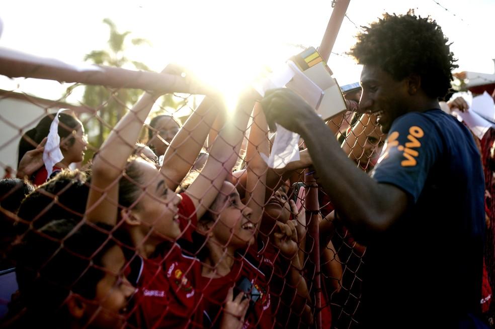 Talles Magno era o principal nome da Seleção sub-17, campeã mundial em 2019 — Foto: Alexandre Loureiro/ CBF