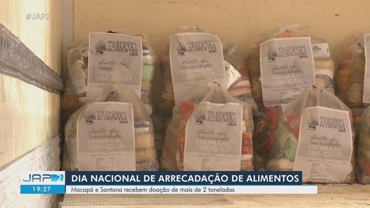 Campanha arrecada e distribui 2 toneladas de alimentos a cerca 50 entidades