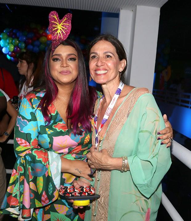 Preta Gil e Flora Gil (Foto: Thiago Duran, Webert Belicio e Wesley Costa/AgNews)
