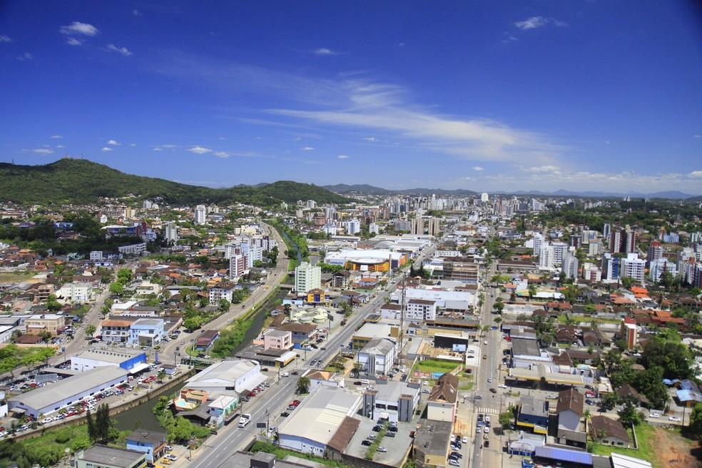 Cidade de Joinville — Foto: Prefeitura de Joinville/Divulgação
