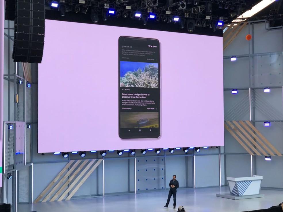 Google lança aplicativo de notícias (Foto: Helton Simões Gomes/G1)