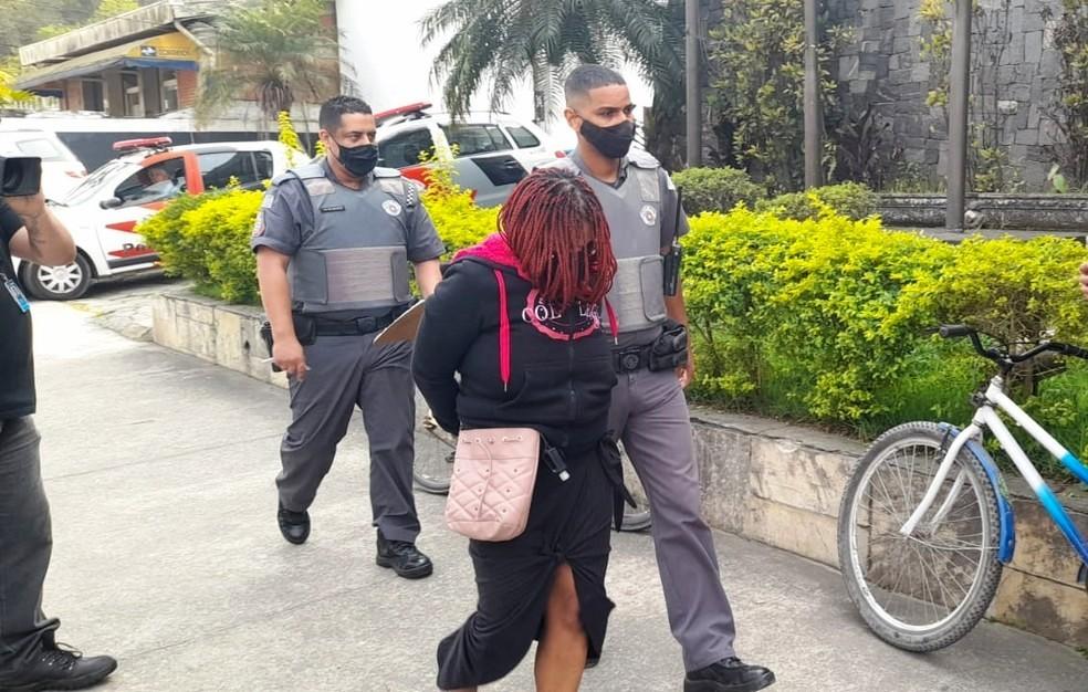 Mãe foi presa nesta quarta-feira (25) e confessou o crime, segundo a PM — Foto: Vanessa Medeiros/G1