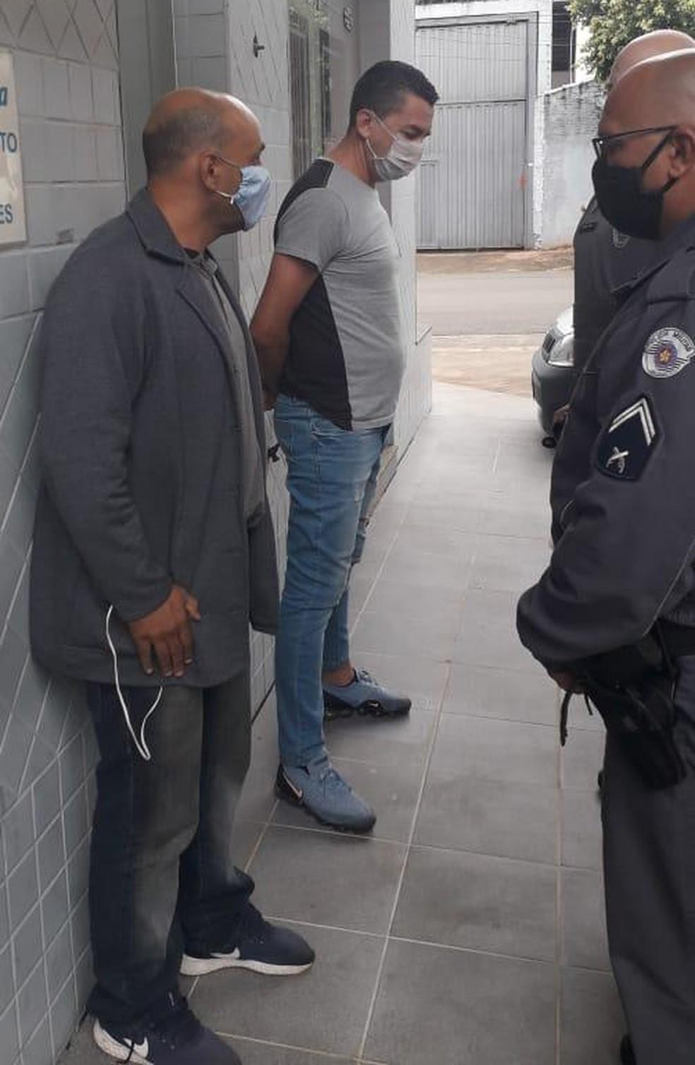 Piá, ex-Ponte e Corinthians, é preso em Cordeirópolis  — Foto: Guarda Municipal de Cordeirópolis