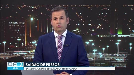 Ex-senador Luiz Estevão é liberado em saidão