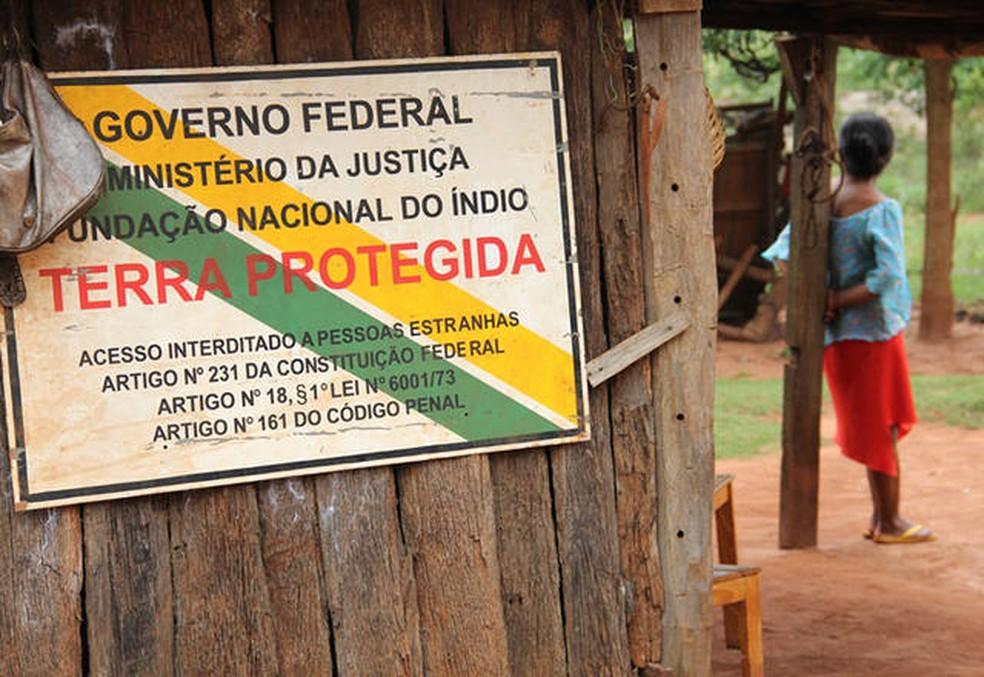Terras indígenas são protegidas por Lei Federal — Foto: Ascom MPF/MS