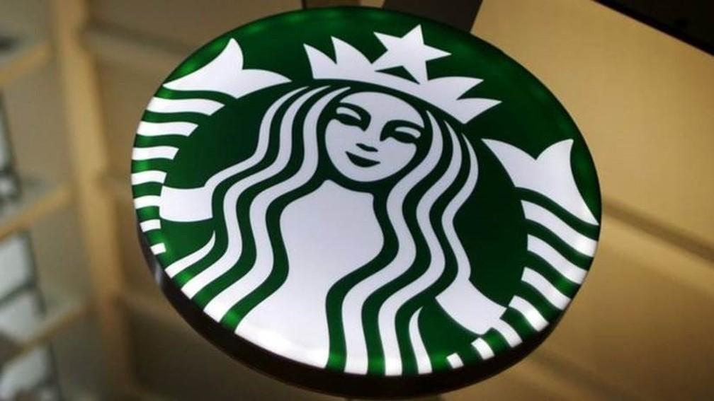 Logo da rede de cafeterias Starbucks — Foto: Reuters