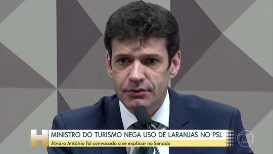 Ministro se diz injustiçado e nega ter usado 'laranjas' no PSL
