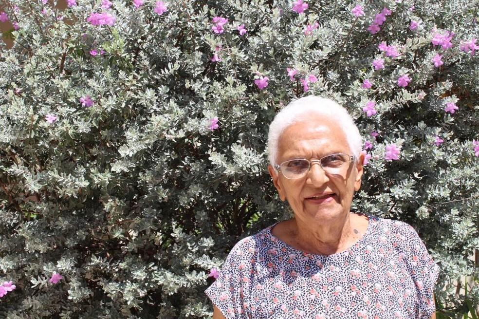 Ivone Baziolli foi funcionária do Instituto Agronômico de Campinas (IAC) durante 65 anos e ajudou a desenvolver principais variedades de café no Brasil — Foto: Sérgio Parreiras Pereira