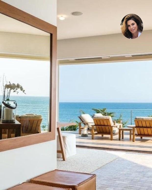 Mansão de Cindy Crawford foi vendida por R$ 169 milhões (Foto: Divulgação)