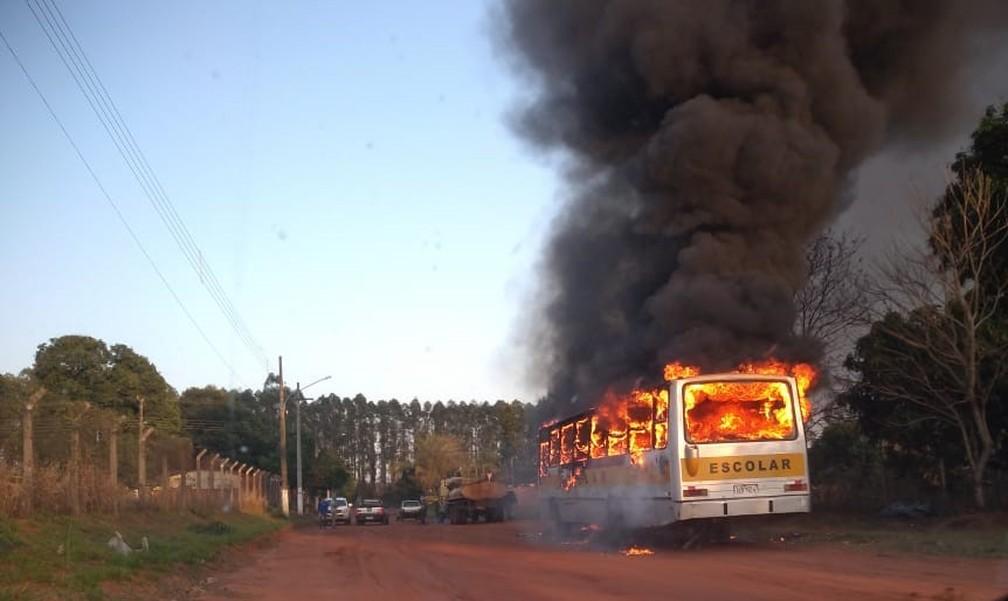 Segundo a Secretaria de Educação, não houve feridos  Foto: Kleber Souza/Rio Pardo News