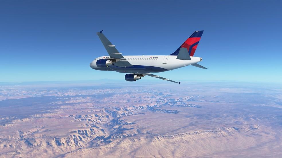 O mais realista dos jogos, Infinite Flight tem gráfico impressionante — Foto: Divulgação/Infinite Flight LLC