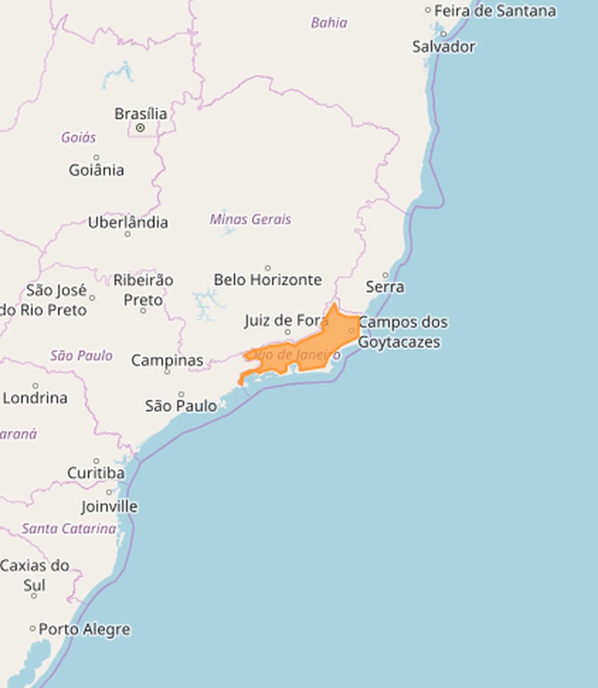 Inmet emite alerta de chuva e lista cidades do interior do Rio; veja quais são