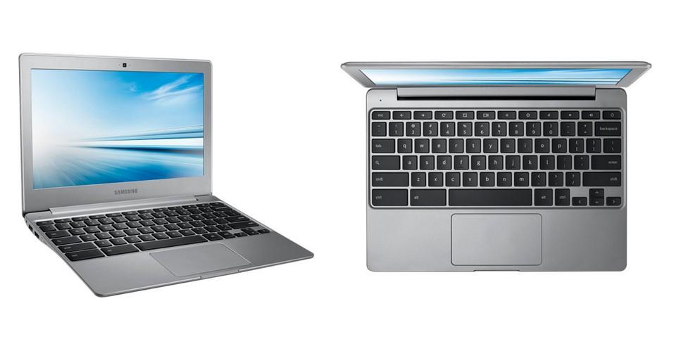 Samsung Chromebook tem tela de 11,6 polegadas  — Foto: Divulgação/Samsung