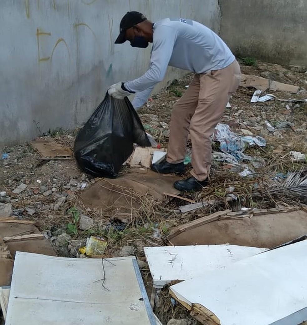 Mutirões de limpeza são realizados pelo Executivo — Foto: Prefeitura de Formiga/Divulgação