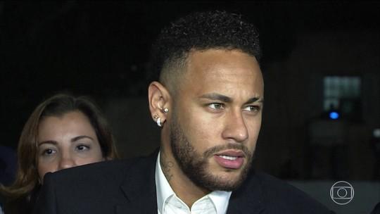 Neymar depõe em São Paulo sobre acusações de agressão e estupro
