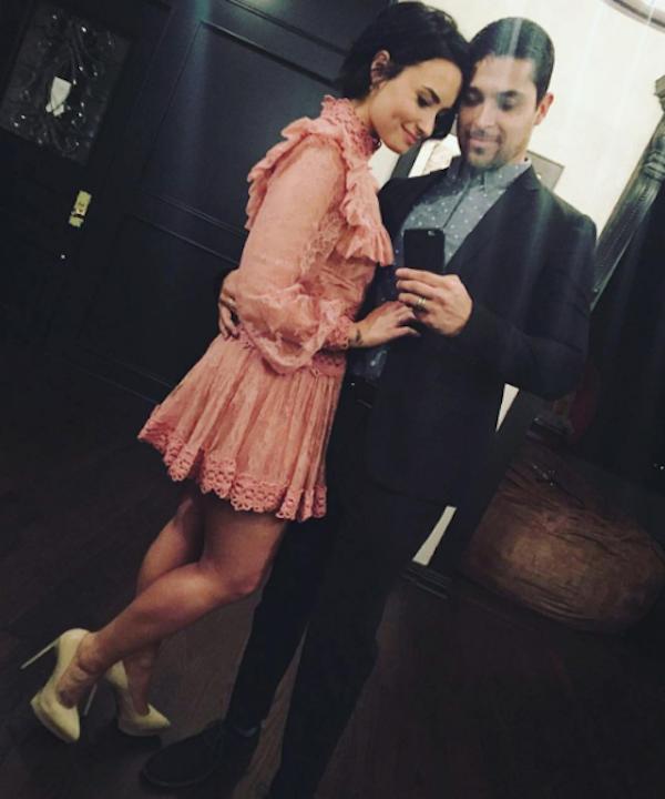 Demi Lovato e seu ex-namorado, o ator Wilmer Valderrama (Foto: Instagram)