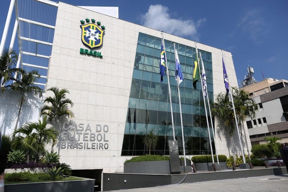 Sede da CBF, no Rio de Janeiro — Foto: Lucas Figueiredo/CBF