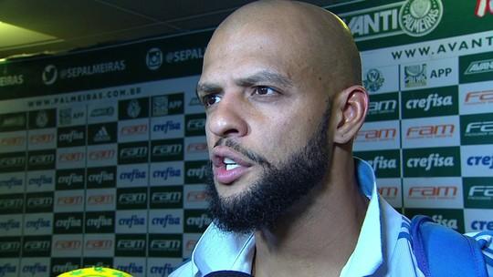 Felipe Melo, do Palmeiras, diz que Dudu merecia estar na lista principal da Seleção
