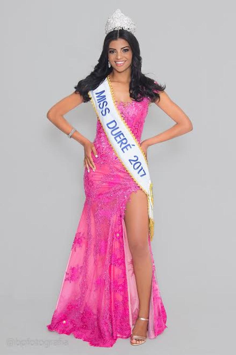Islane Machado representou o Tocantins no concurso Miss Brasil em 2017 (Foto: Divulgação/Bpfotografia)