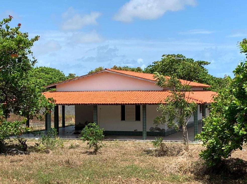 Sítio do empresário está localizado no distrito de Olho D'água no Eusébio. — Foto: Marcella Lima/Sistema Verdes Mares