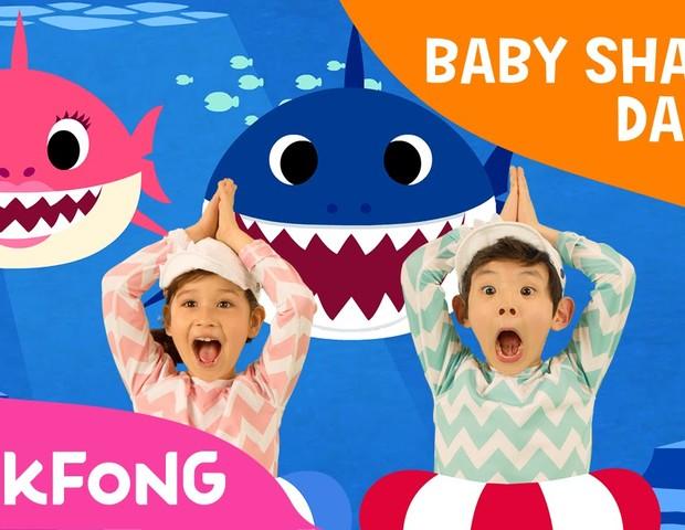 """""""Baby Shark"""" viralizou em todo o mundo (Foto: Reprodução Youtube)"""