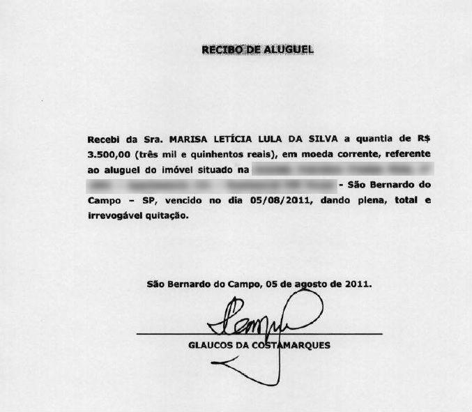 Defesa de Lula apresenta recibos que comprovam pagamento de aluguéis de imóvel investigado na Lava Jato