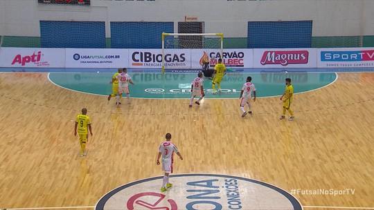Marechal Rondon e Atlântico empatam em 1 a 1 no primeiro jogo pela semifinal da Liga