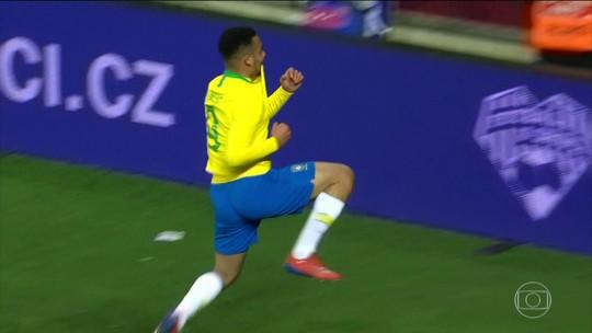Seleção Brasileira leva susto, mas vence República Tcheca em amistoso