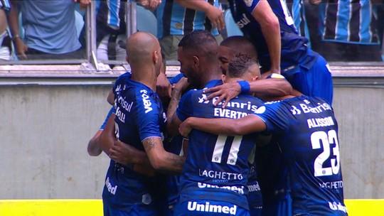 Jean Pyerre aumenta repertório com golaço e se solta cada vez mais como pensador do Grêmio