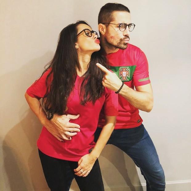 Francisca Pinto e Ricardo Pereira (Foto: Reprodução/Instagram)
