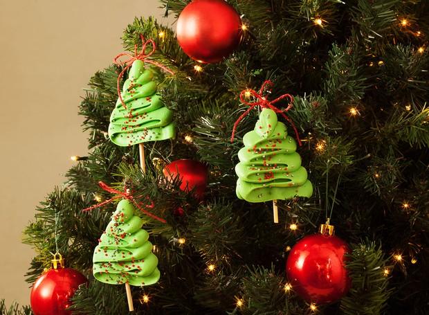 Receita de árvore de Natal de suspiro, da União (Foto: Divulgação)
