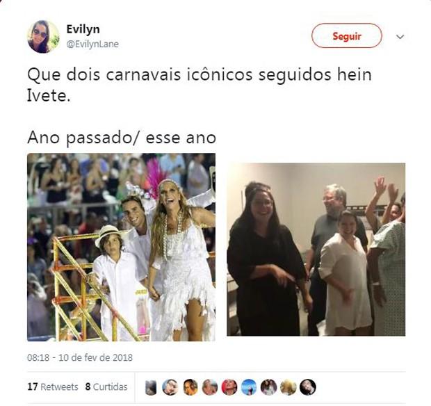 Fãs homenageiam e fazem memes sobre o nascimento das filhas de Ivete Sangalo (Foto: Reprodução/Instagram)