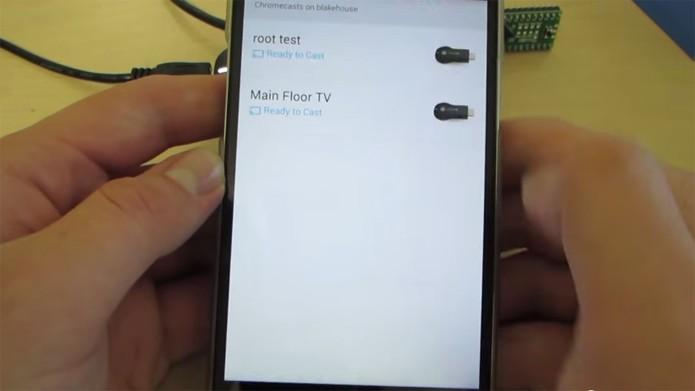 Falha no firmware permite fazer root no Chromecast (foto: Reprodução/YouTube)