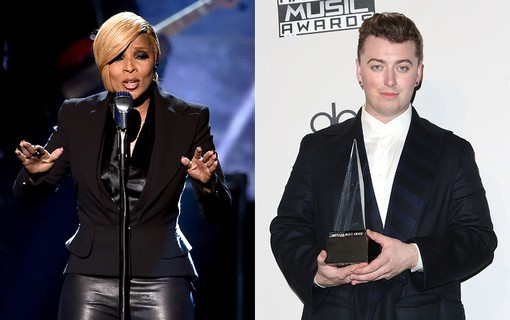 Mary J. Blige e Sam Smith