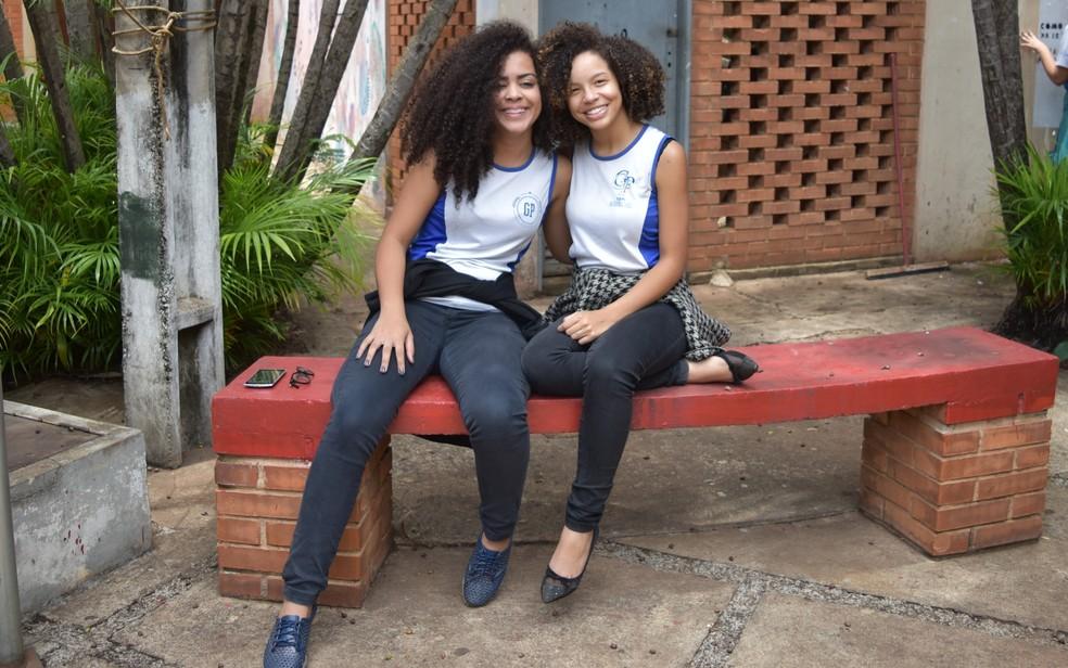 Alunas do Garavelo Park apreendem a se impor e respeitar o outro (Foto: Paula Resende/ G1)