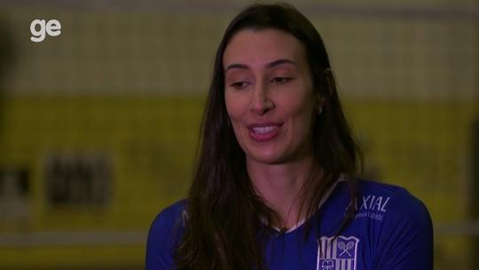 """Sheilla confessa sonho olímpico: """"Encerrar na seleção com medalha seria muito melhor"""""""