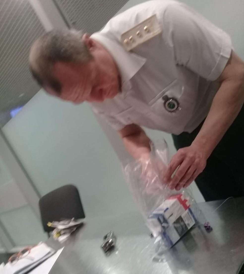 Remédios que causaram a detenção de Robson no aeroporto — Foto: Reprodução