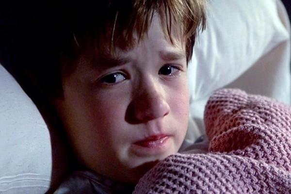 Haley Joel Osment em 'O Sexto Sentido' (Foto: Reprodução)