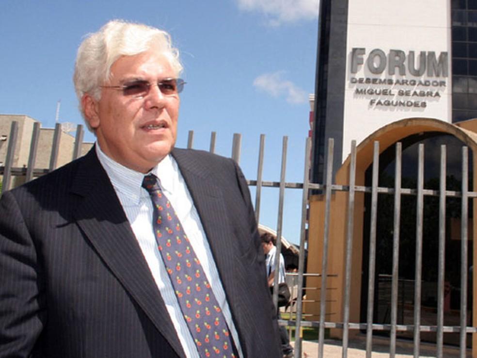 Ex-governador Fernando Freire foi condenado a mais 12 anos de prisão no RN (arquivo)  — Foto: Marcelo Barroso/Tribuna do Norte