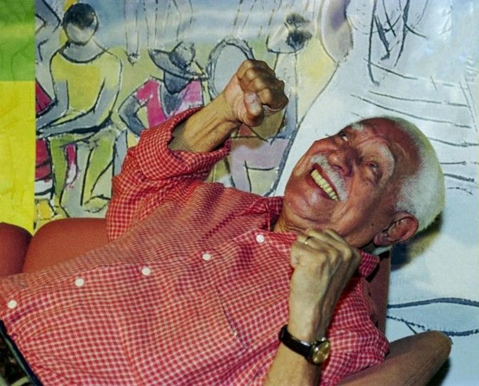 Dorival Caymmi é retratado com afeto no filme conduzido a partir de entrevista inédita dada pelo artista em 1998 — Foto: Cristina Granato / Divulgação