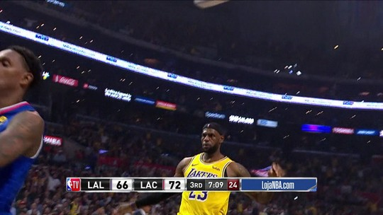 Com Kawhi inspirado, Clippers vencem os Lakers da dupla LeBron James e Anthony Davis
