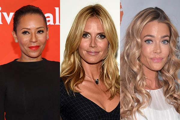 Mel B, Heidi Klum e Denise Richards (Foto: Getty Images)