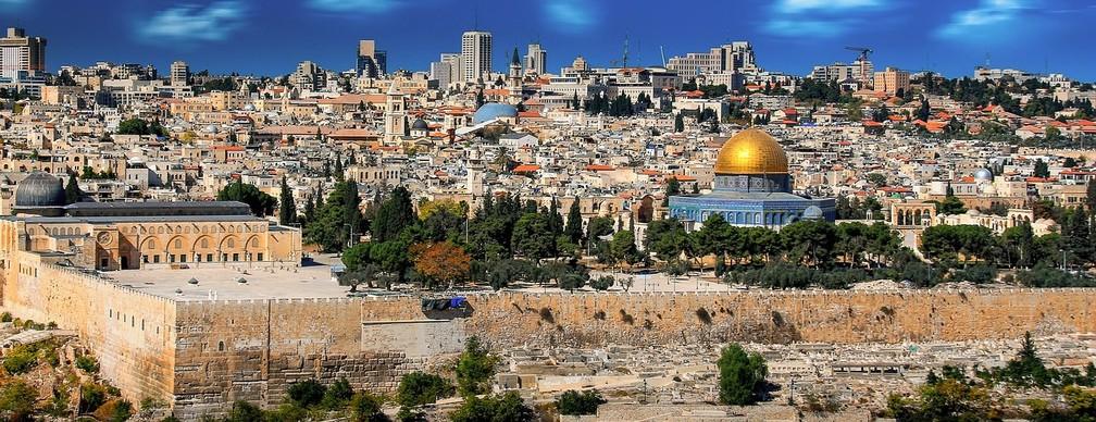 Jerusalém 'evoca um senso do sagrado, do histórico e do celestial' - a uma extensão potencialmente devastadora — Foto: Pixabay